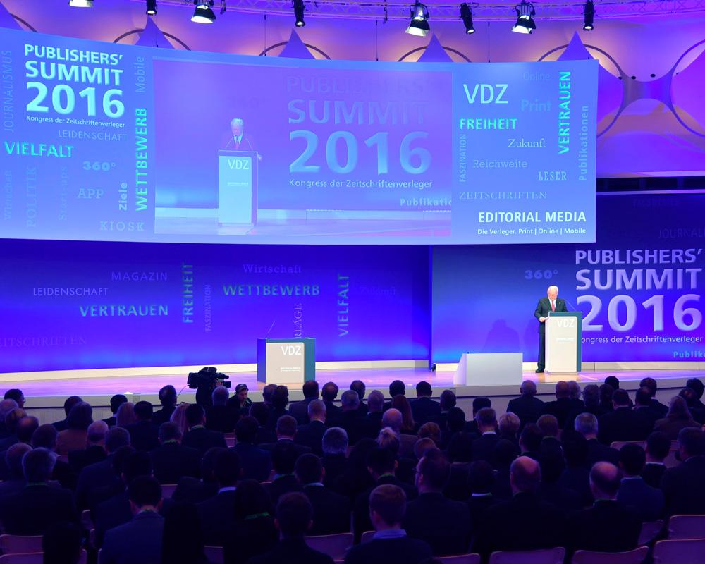 VDZ Publishers' Summit 2016