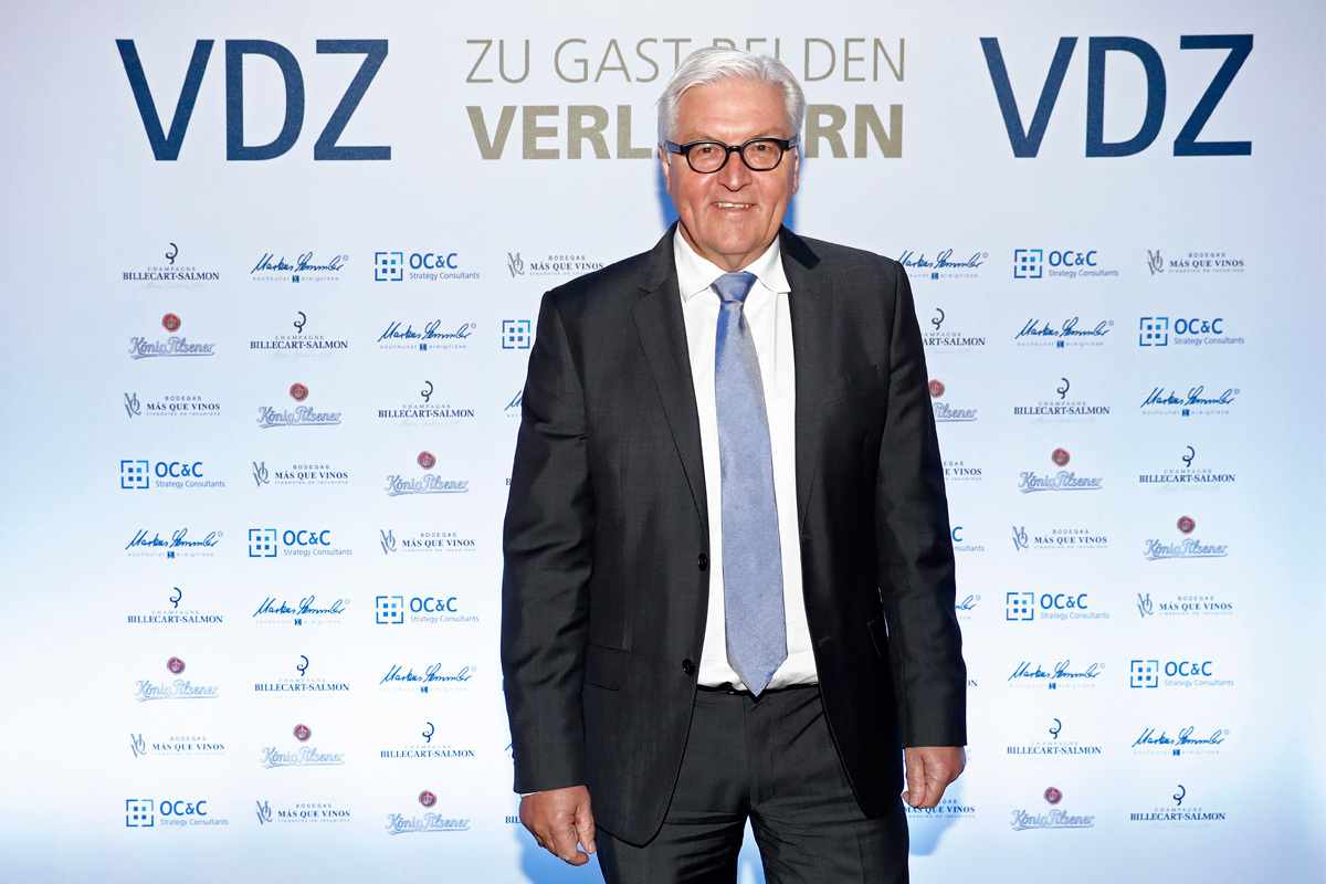 VDZ Publishers' Night 2016 – Steinmeier