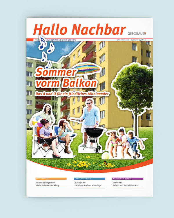 GESOBAU Hallo Nachbar 2/2013